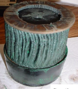 Old Coolant Filter