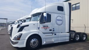Volvo Rental Truck