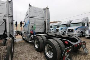 Back of Cab - 2012 Volvo Truck VNL 670