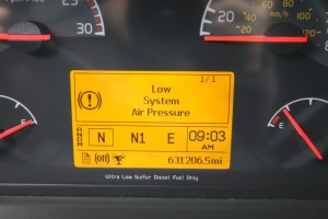 Instrument Cluster and Odometer - 2012 Volvo Truck VN670