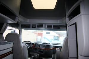Cab Interior - 2012 Volvo Truck VNL670