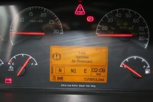 Odometer - 2012 Volvo Truck VNL 670