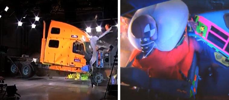Volvo Truck Crash Test