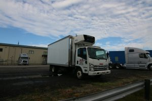 2008  GMC 18 foot Reefer