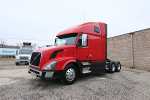 2011 Volvo VNL64T670 Driver Side View