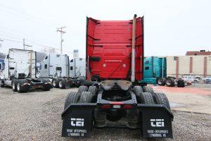 2011 Volvo Truck VNL64T670 Rear