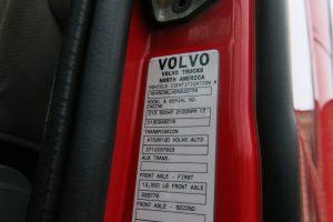 2011 Volvo Truck VNL64T670 VIN