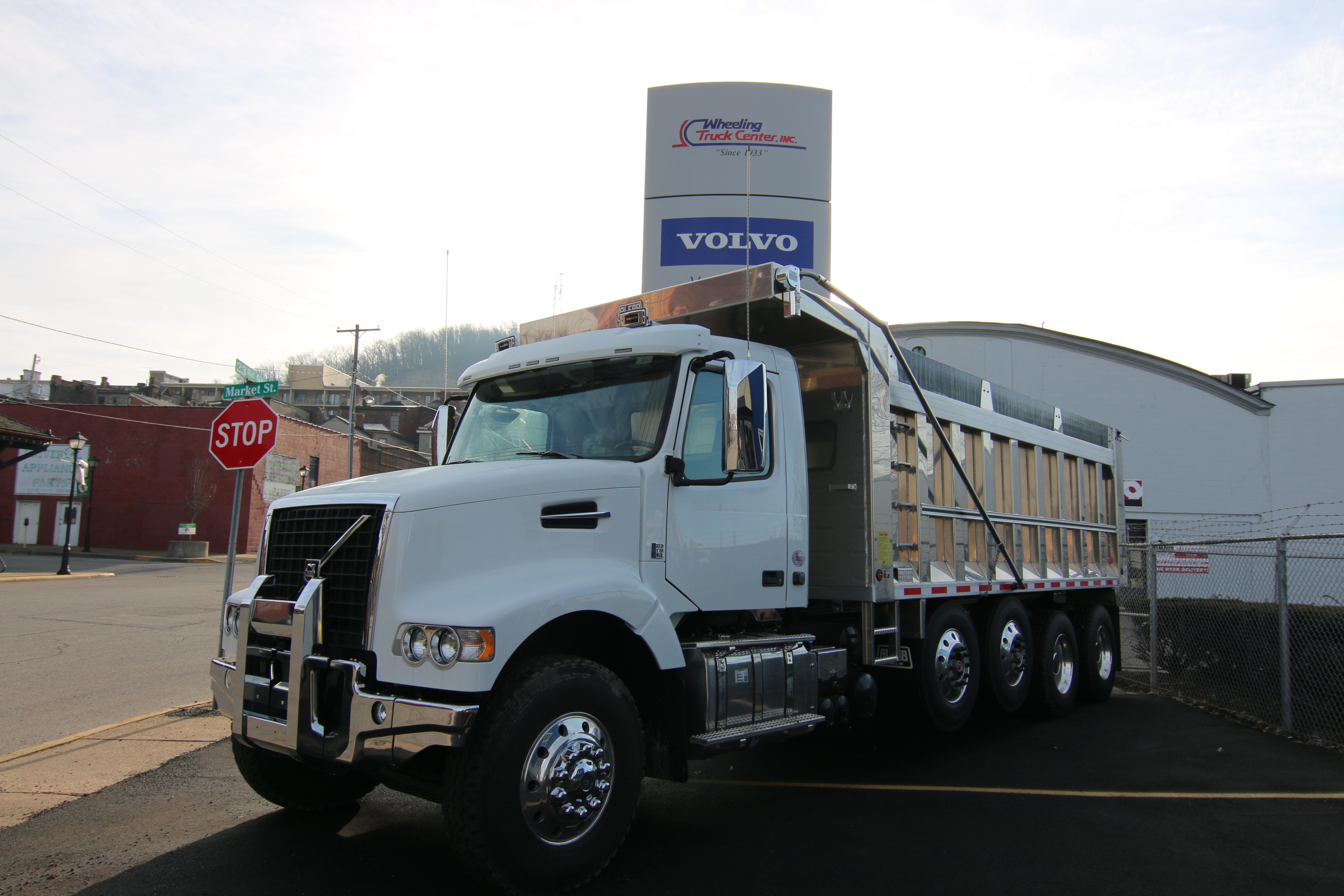 2016 Volvo Truck VHD Dump Truck - New Truck for Sale - Wheeling Truck Center
