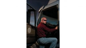 Volvo Truck Driver Entry