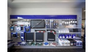 Volvo Truck Parts Display