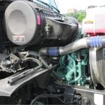 2016 Volvo D13 Right side of the engine