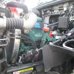 2016 Volvo D13 Left side of the engine