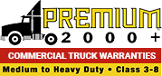 Premium 2000 heavy-duty truck warranty logo