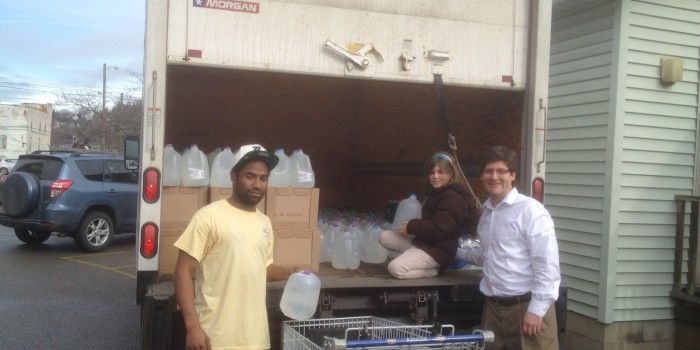 Water Delivery to Charleston WV